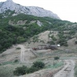 Лошадиное ранчо, случайно обнаруженное в горах